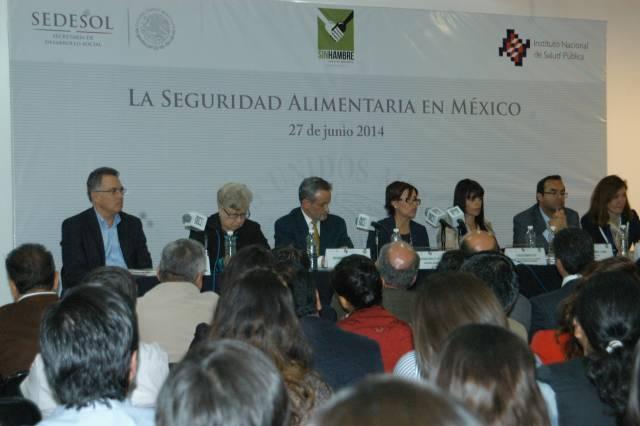 Revista Salud Pública en México sobre La Seguridad Alimentaria