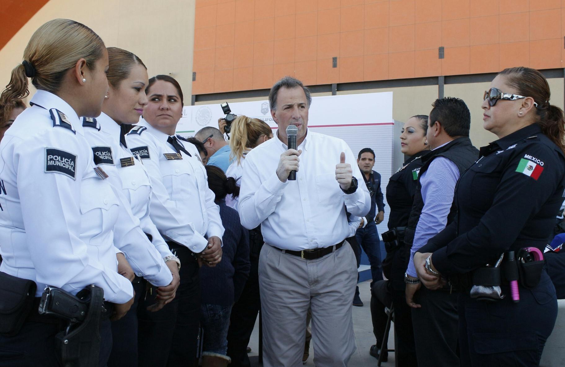 Mensaje del secretario de Desarrollo Social, José Antonio Meade Kuribreña, en el marco de su gira de trabajo al estado de Baja California