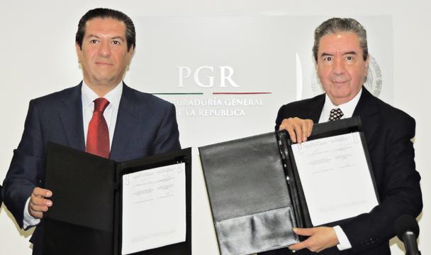 PGR y SEGOB instrumentan nuevos mecanismos de colaboración interinstitucional.