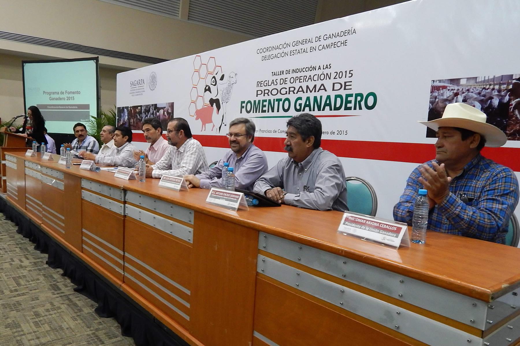 Destinará SAGARPA alrededor de 300 mdp al sector ganadero de la Península de Yucatán: Gurría Treviño.