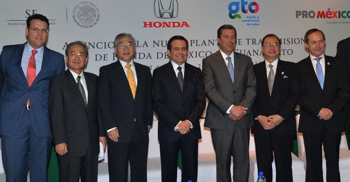 Anuncia Honda Inversión en México por 470 mdd