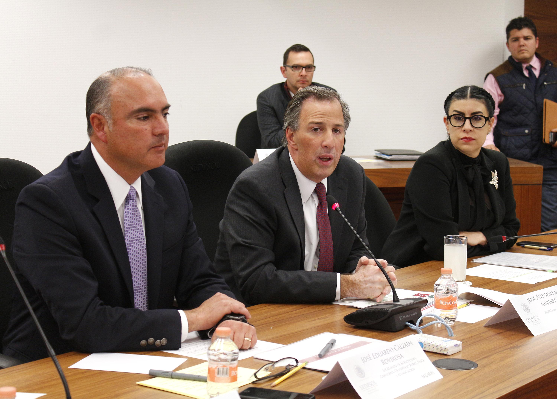 El secretario José Antonio Meade encabezó una reunión intersecretarial en materia de Desarrollo Social