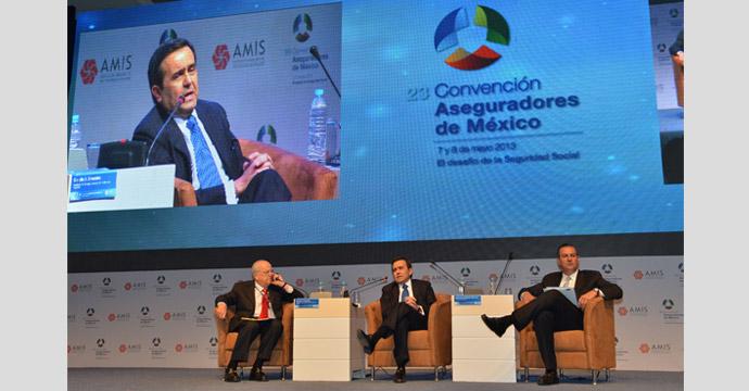 Participa el Secretario de Economía en la 23 Convención de Aseguradores de México