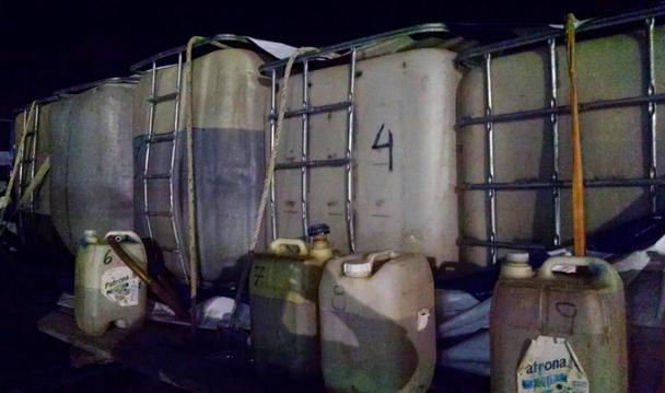 Asegura PGR hidrocarburo robado en Tamaulipas.