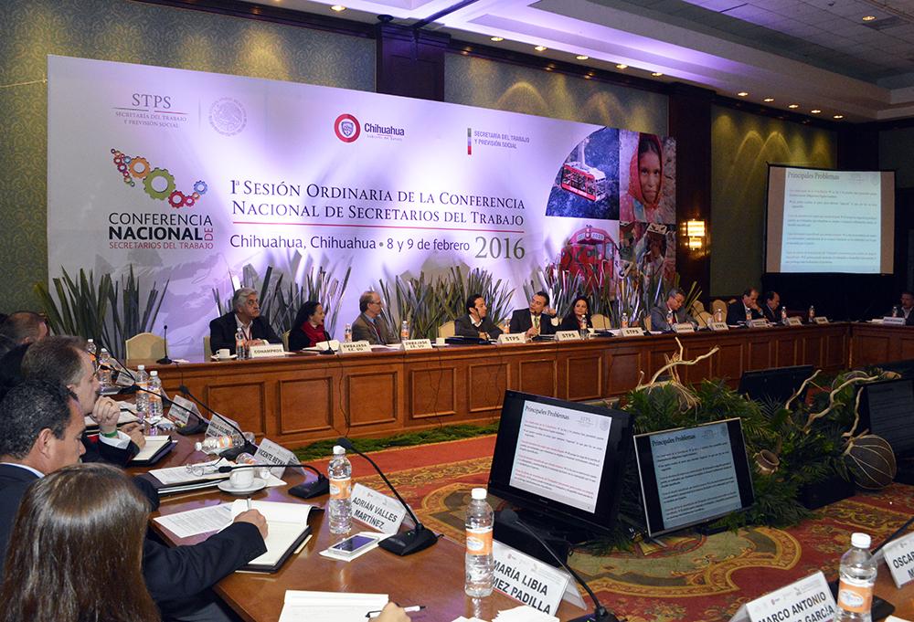 1a Sesión Ordinaria de la Conferencia Nacional de Secretarios del Trabajo