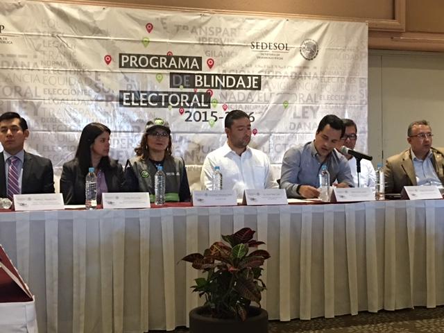 FEPADE y SEDESOL instalan el Comité Preventivo Electoral en Oaxaca.