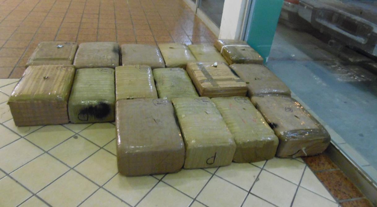 PGR inicia indagatoria por el hallazgo de más de 300 kilos de marihuana.