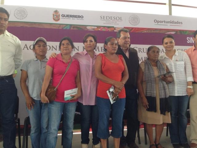 La Cruzada Nacional Contra el Hambre en la Comunidad La Esperanza, Mártir de Cuilapan, Gro.