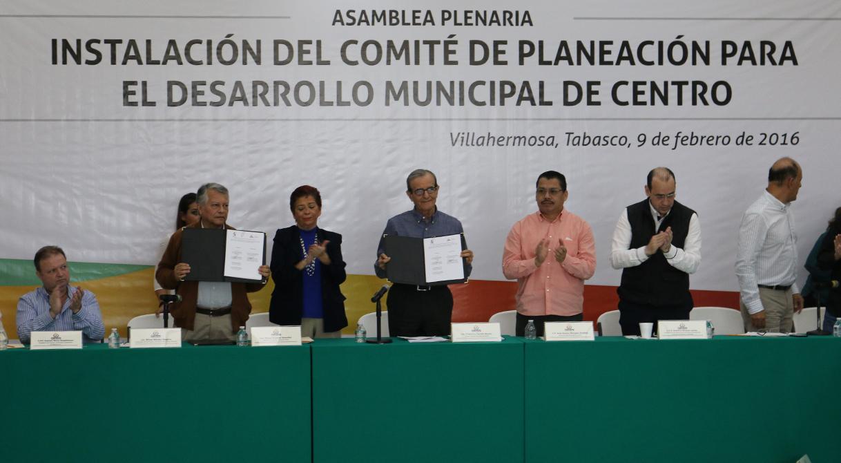 PGR delegación Tabasco participa en la planeación para el Desarrollo Municipal