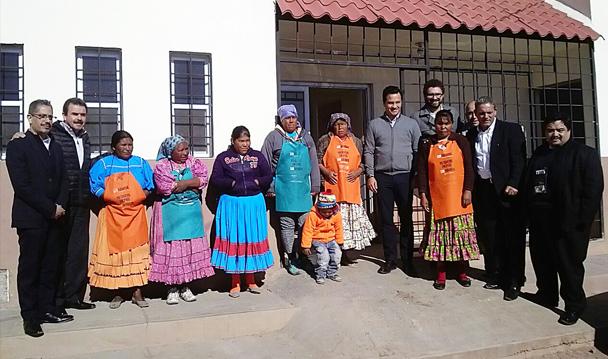 FEPADE, SEDESOL y Contraloría Social supervisan programas sociales en zona rural de Chihuahua.