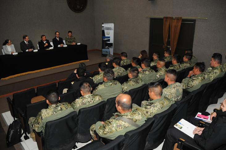 """Clausura del Curso-Taller: """"Derechos Humanos en las Fuerzas Armadas"""""""