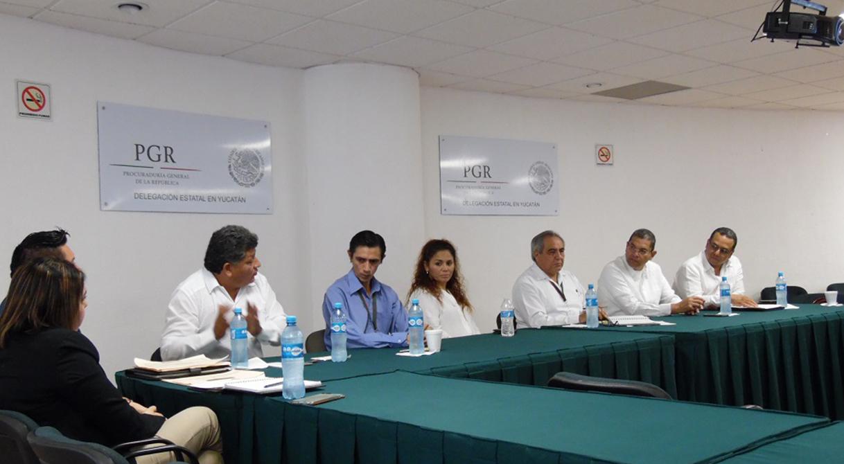 Reunión de avances y seguimientos en la implementación del Nuevo Sistema de Justicia Penal Acusatorio.