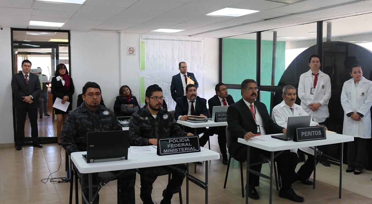 PGR analiza avances del Sistema de Justicia Penal.