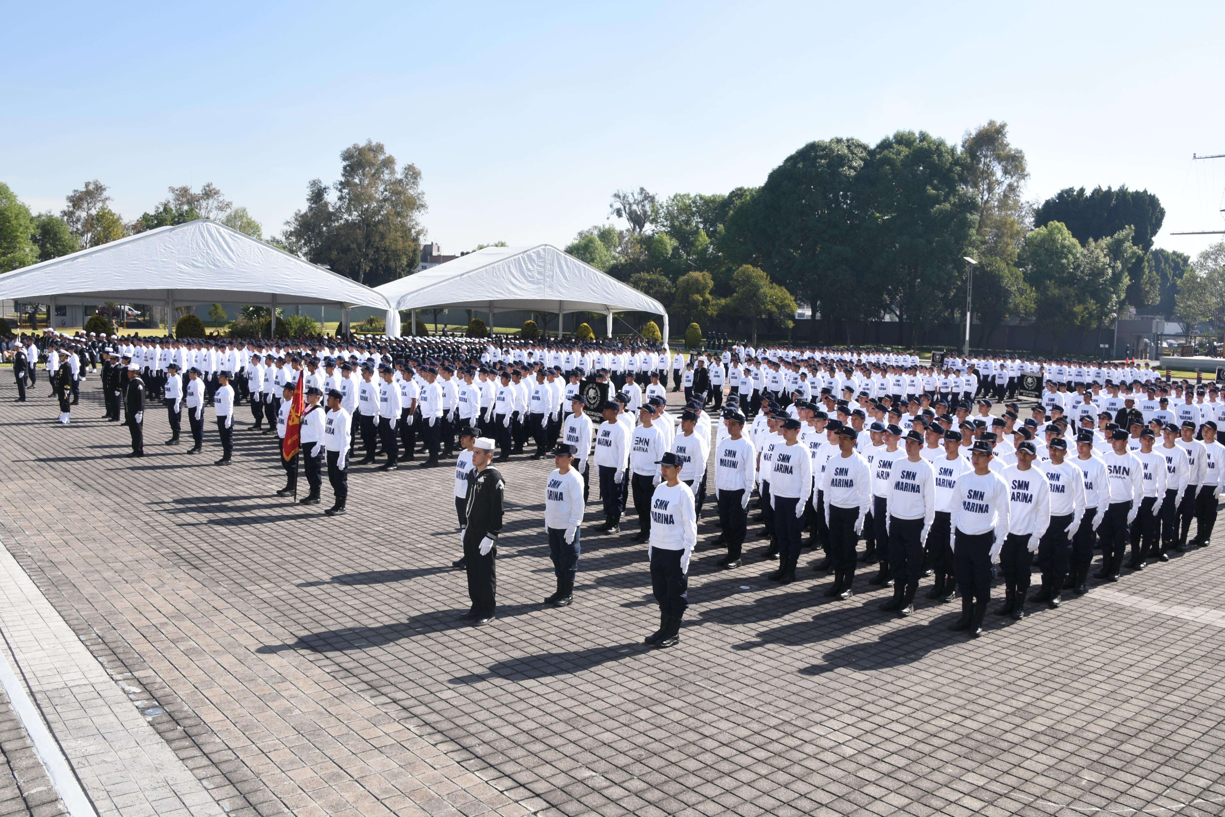 Marineros de Infantería de Marina del Servicio Militar Nacional, Clase 1997, Anticipados, Remisos y Voluntarias