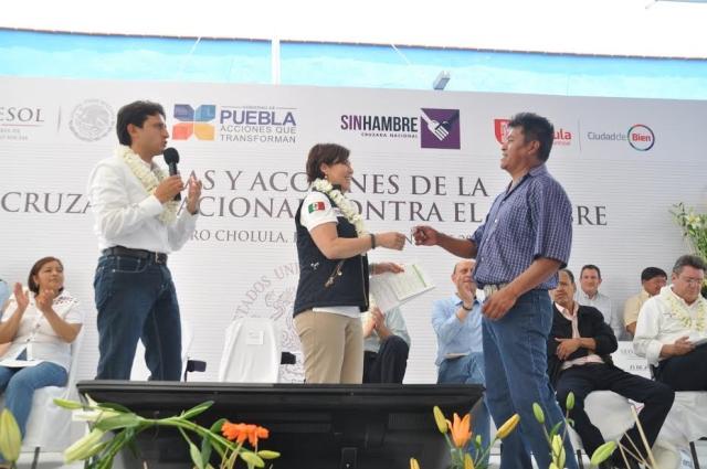 Recorrido de Trabajo por Puebla