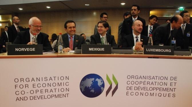 Realiza el Secretario de Economía, Ildefonso Guajardo Villarreal, reuniones con funcionarios de la OCDE