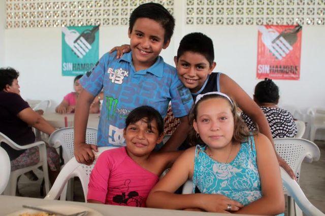 Comedores Comunitarios en la Congregación de Vargas, Veracruz