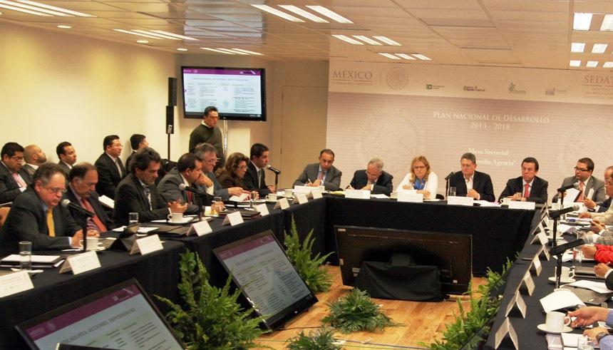 Encabezó la reunión la Subsecretaria de Política Sectorial y participaron los titulares de la PA, del FIFONAFE y de la CORETT, además de especialistas en la materia.