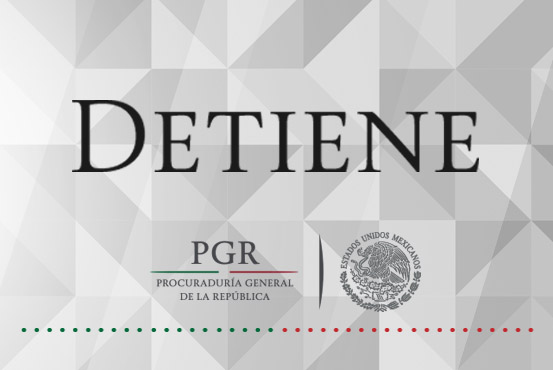 Detiene PGR a probable defraudador del fisco, omitió el pago de más de un millón y medio de pesos