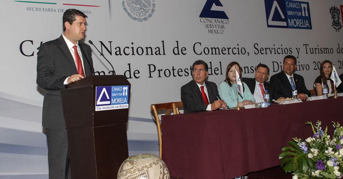 Realiza el Subsecretario Rogelio Garza Gira de Trabajo en Morelia