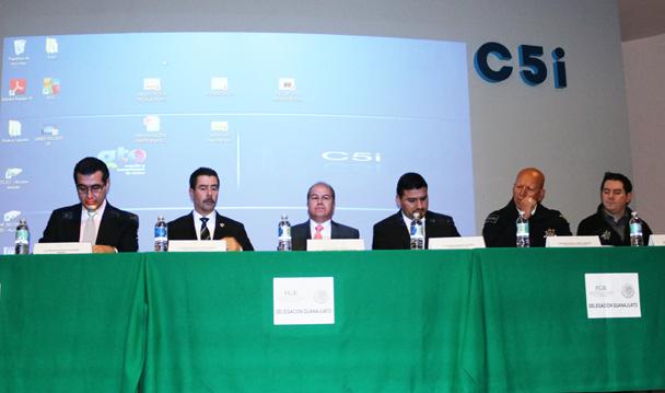 PGR Guanajuato imparte Taller de Justicia Penal Acusatorio a integrantes de seguridad.