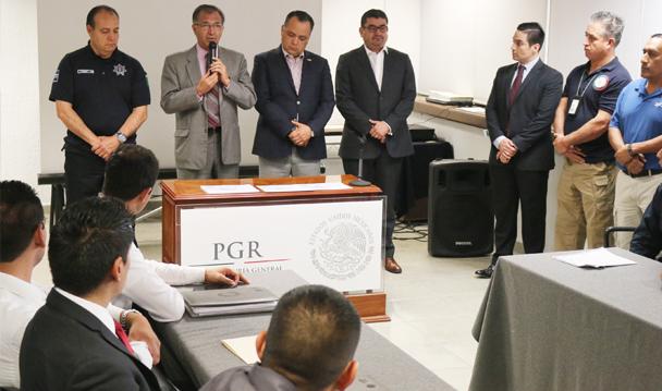 """Concluye PGR Jalisco Curso de Capacitación En """"Cadena de Custodia""""."""