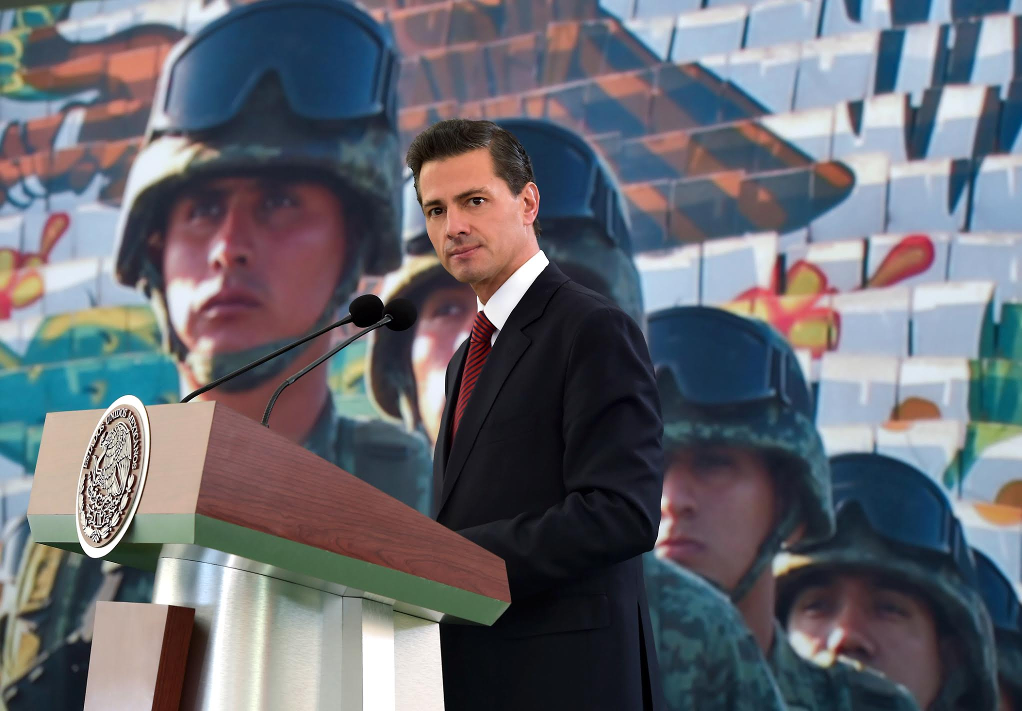 El Primer Mandatario encabezó la conmemoración del 103 aniversario del Ejército Mexicano.