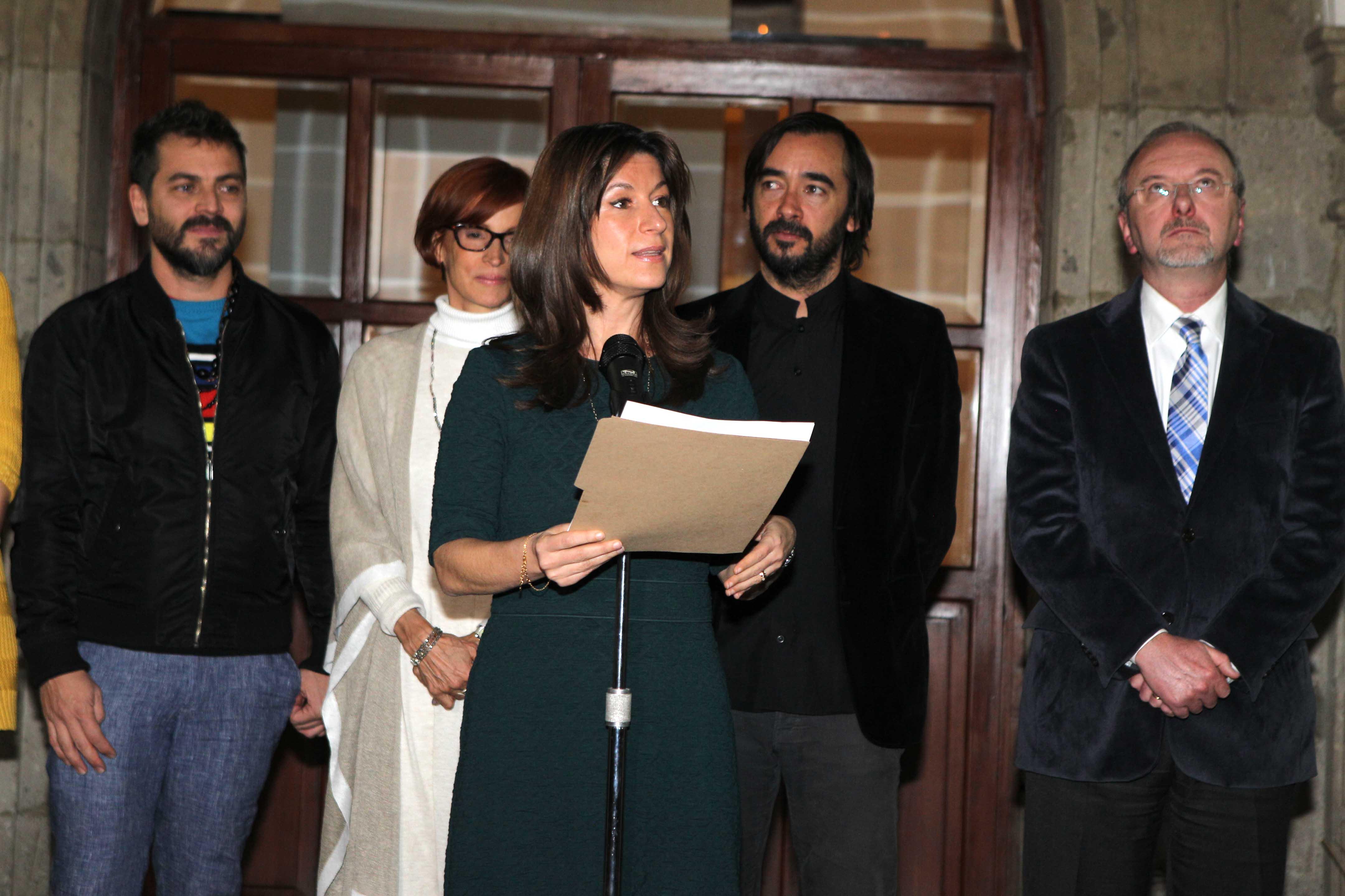 Natalia Saltalamacchia Ziccardi, Directora General del Instituto Matías Romero, en la ceremonia de inauguración