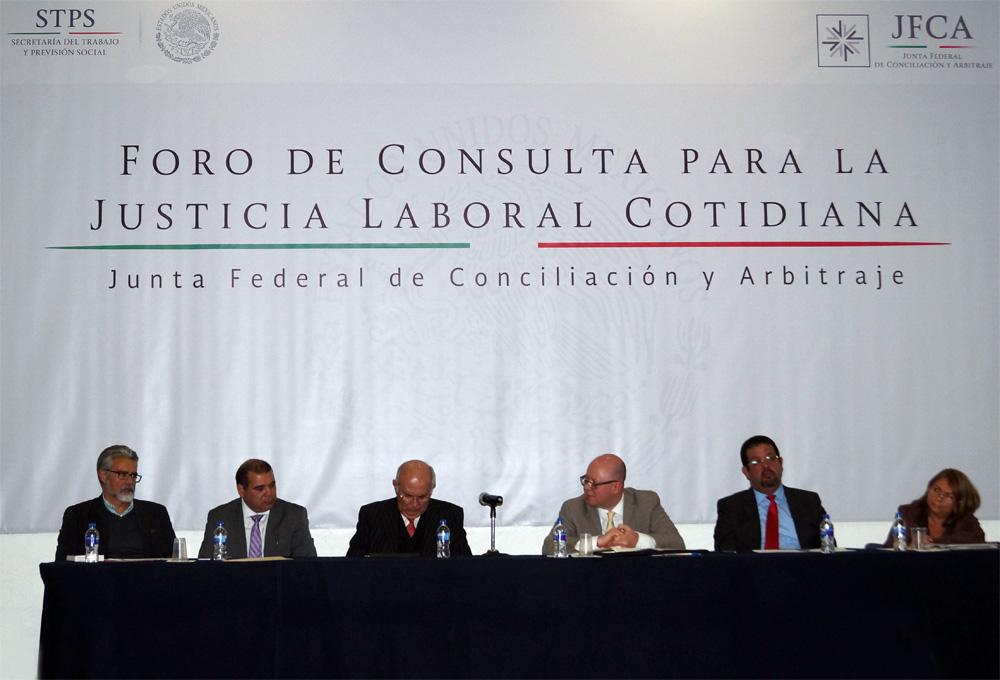 Foro de Consulta para la Justicia Laboral Cotidiana