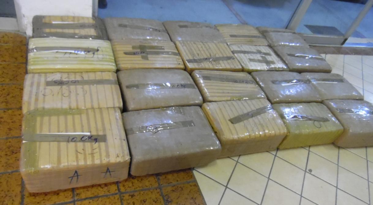 PGR investiga el hallazgo de 179 kilos de marihuana.