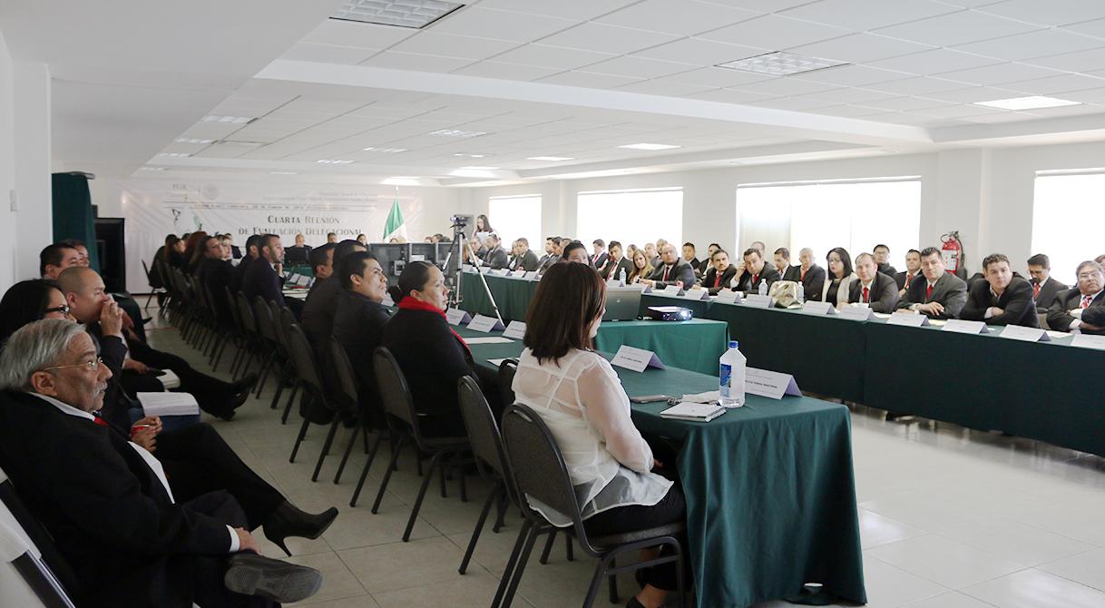 La delegación estatal de PGR en Chihuahua celebro la Cuarta Reunión de Evaluación Delegacional