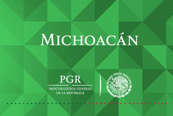 PGR investiga a probable responsable de delitos federales.