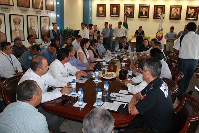 En Baja California Sur y Sonora, las delegaciones se encuentran atentas para llevar ayuda humanitaria a la población que lo necesite