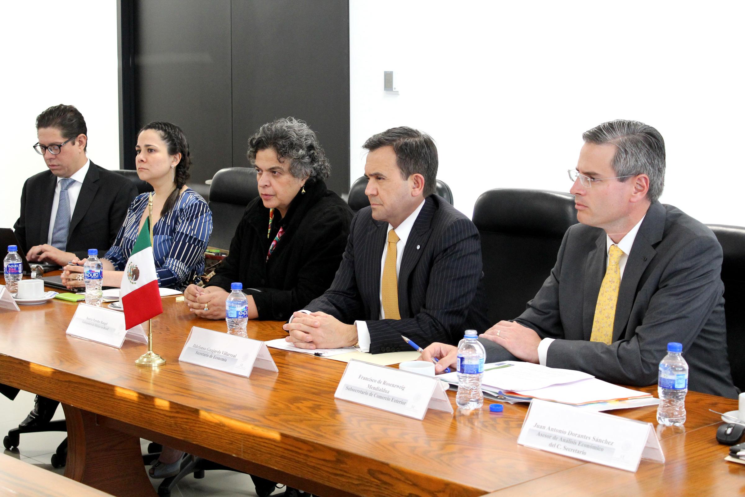 Reunión de Alto Nivel entre México y Brasil