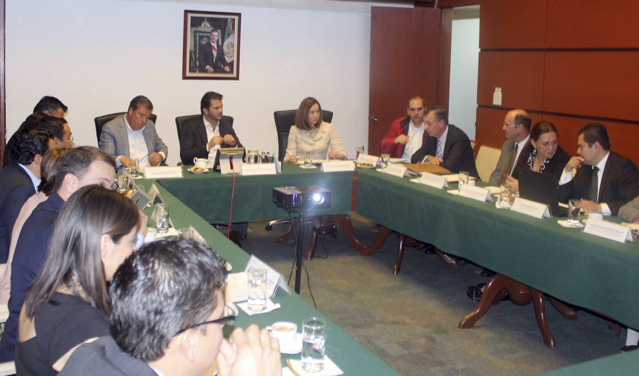 Reunión de trabajo con el Gobierno de Guanajuato