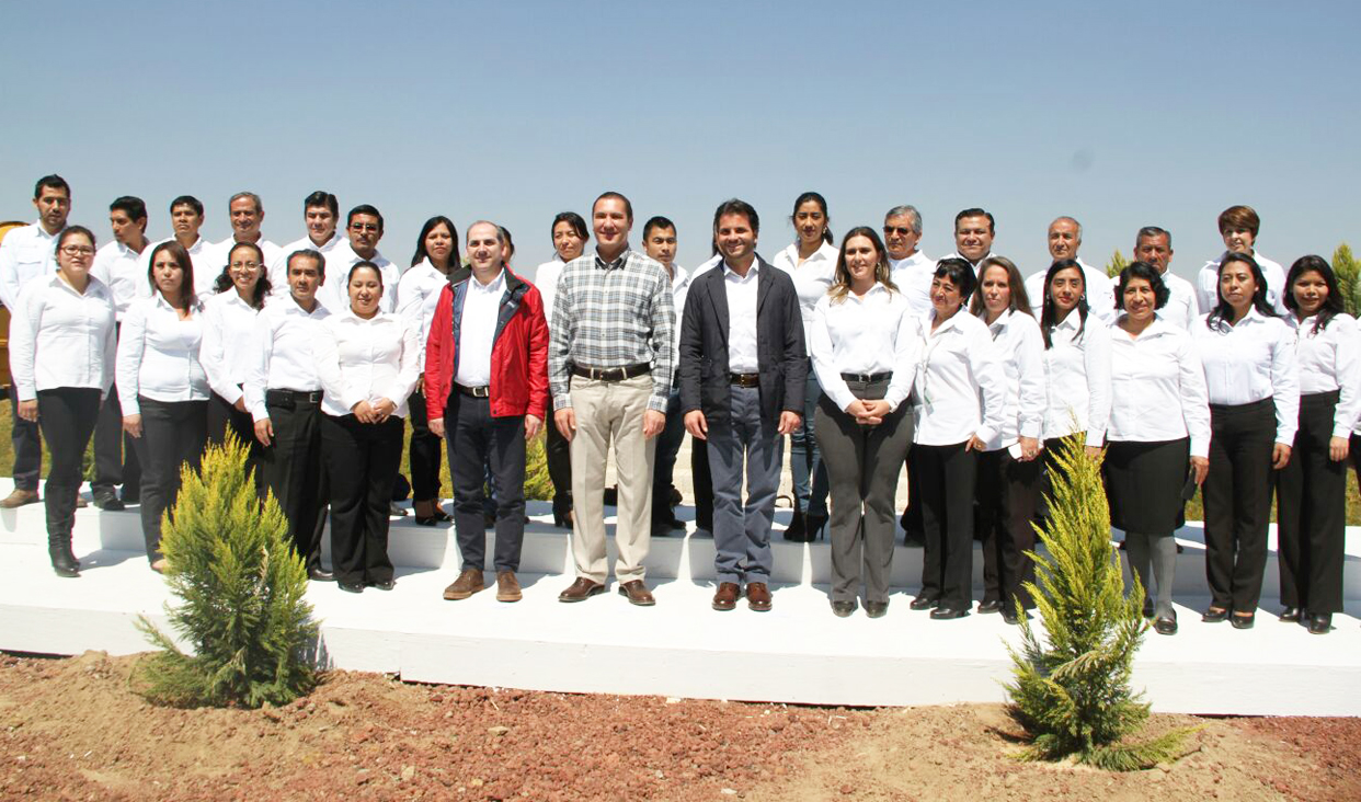 Gira de trabajo por Puebla