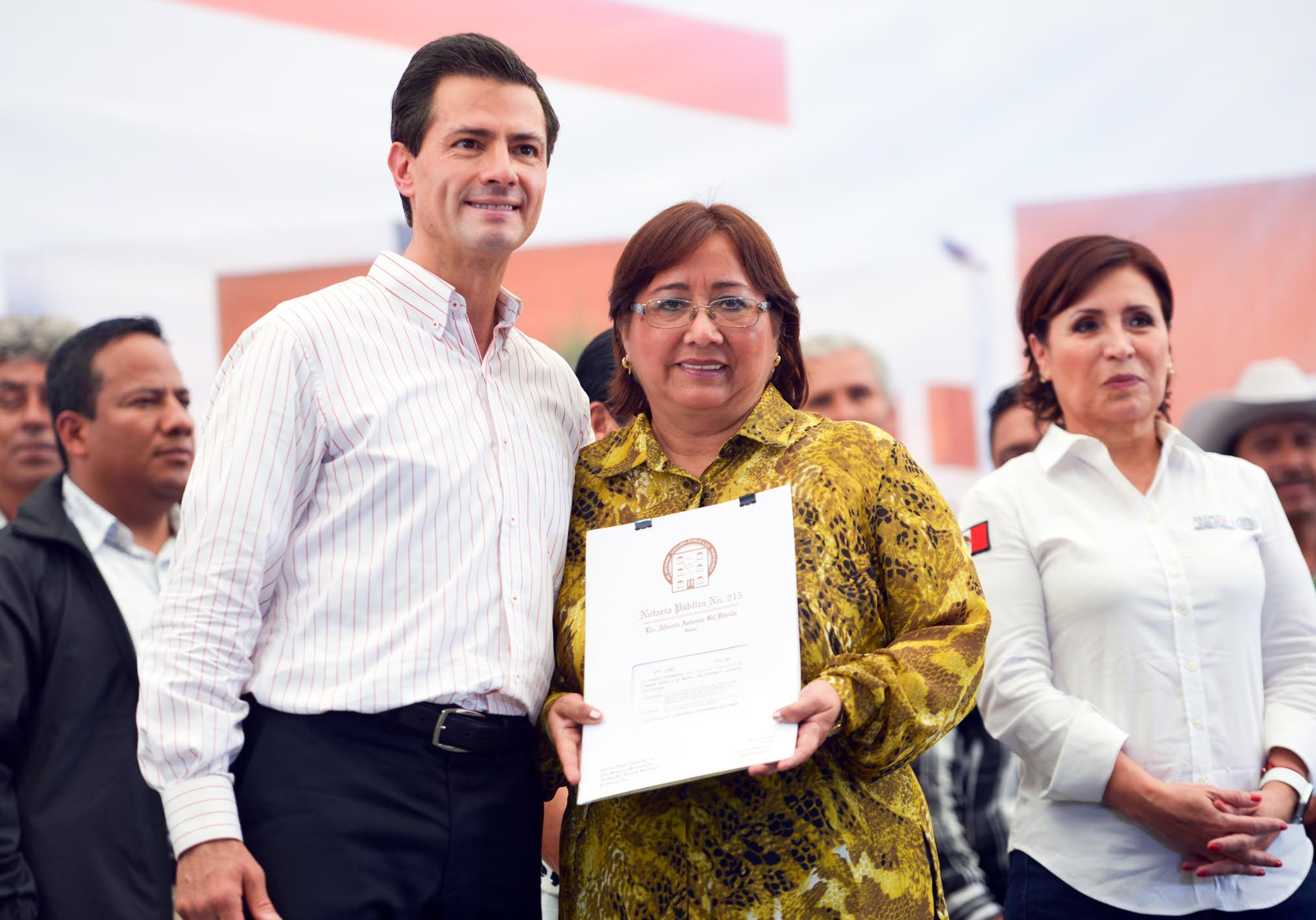 In 2015, according to data from INEGI, Mexico's economy grew 2.5 percent. In the first three years of government, the country's economy has grown by slightly more than  a total of 6 percent, declared the president.