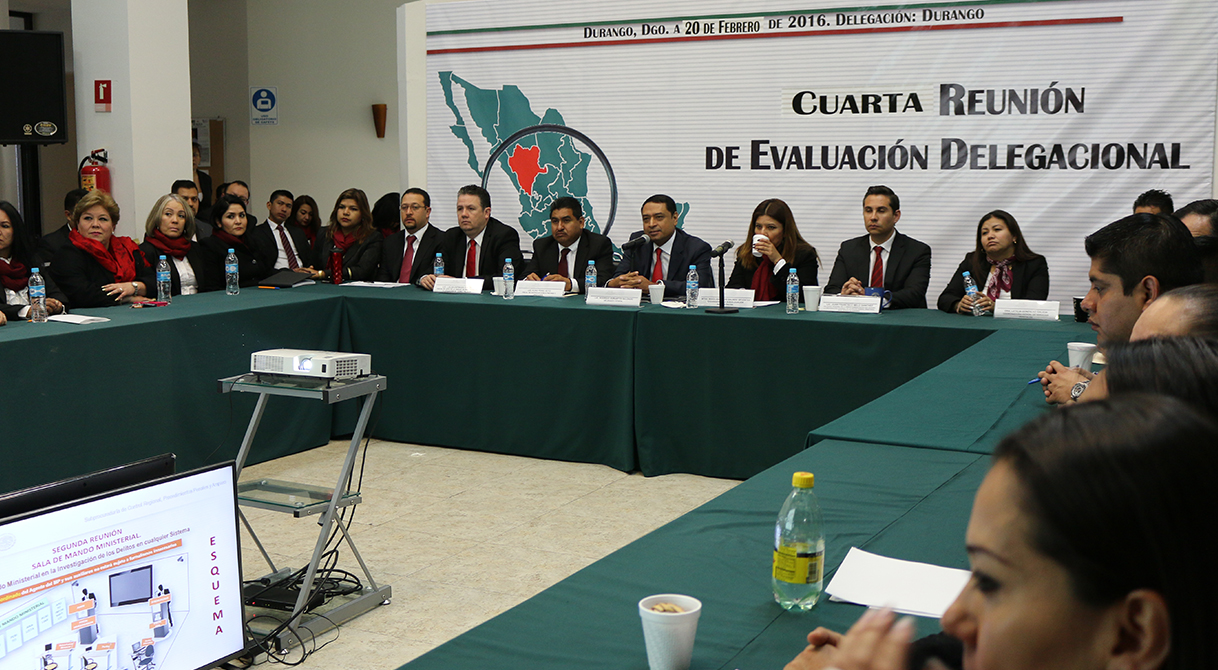 La delegación PGR en Durango llevó a cabo la cuarta plenaria.