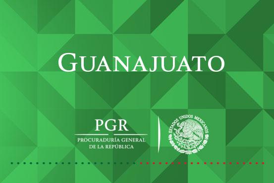 PGR Guanajuato obtiene sentencia condenatoria de dos años dentro del NSPA, por posesión de hidrocarburo.