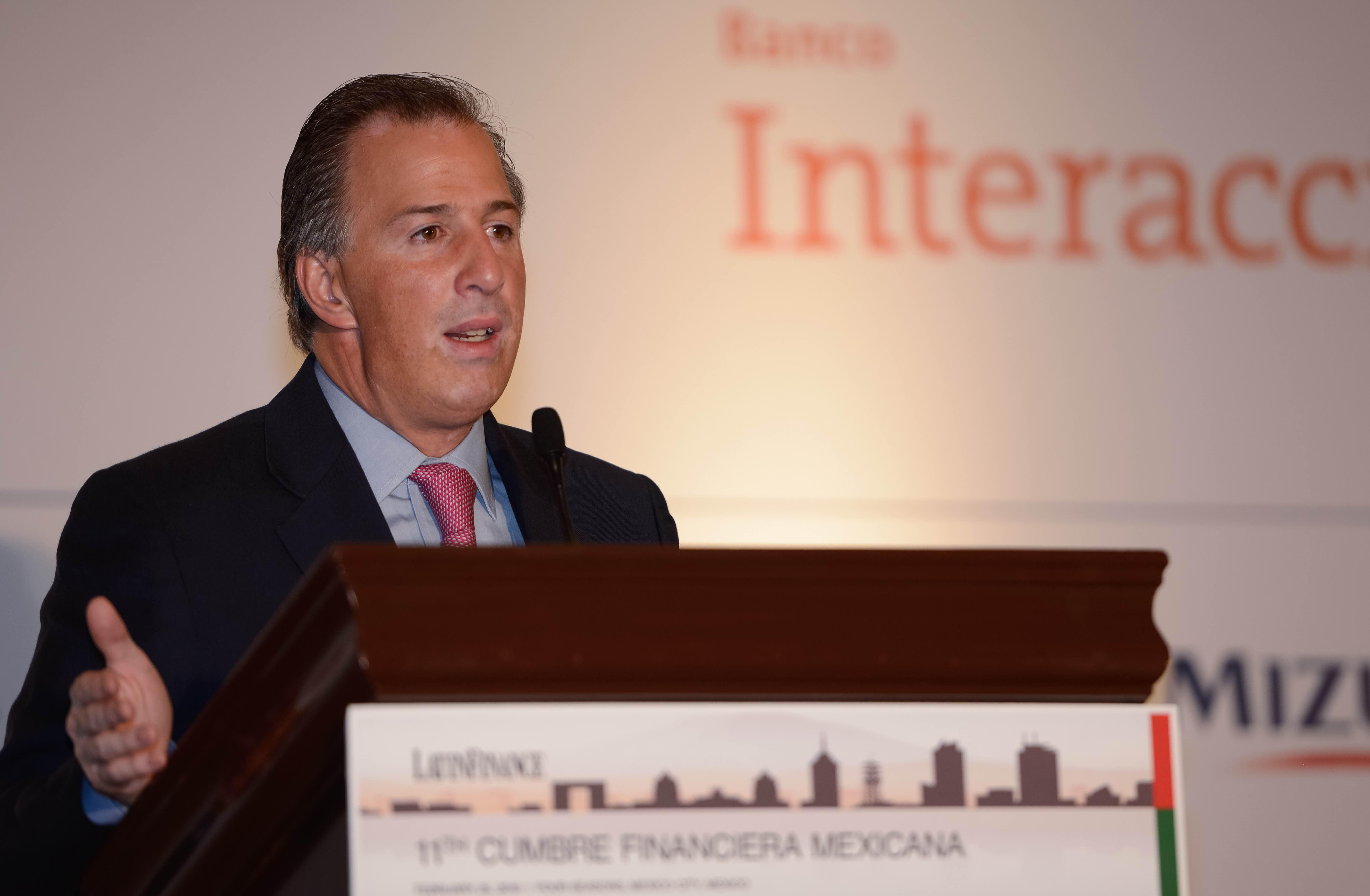El secretario de Desarrollo Social participó como orador en la 11ª Cumbre Financiera Mexicana