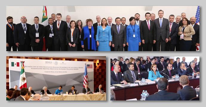 Tercera Reunión del Diálogo Económico de Alto Nivel México Estados Unidos