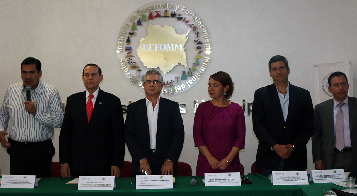 Participa PGR Morelos en la reunión de delegados federales por la implementación del NSJPA.