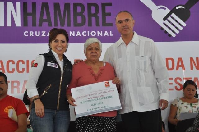 Cruzada Nacional Contra el Hambre en Querétaro