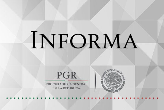 Cumplimenta PGR orden de detención con fines de extradición a inculpado de Delito Contra la Salud.