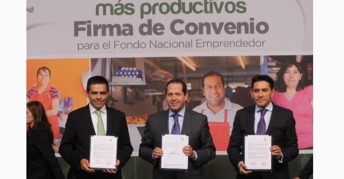 Firman el Gobierno del Estado de México y el INADEM convenio de colaboración