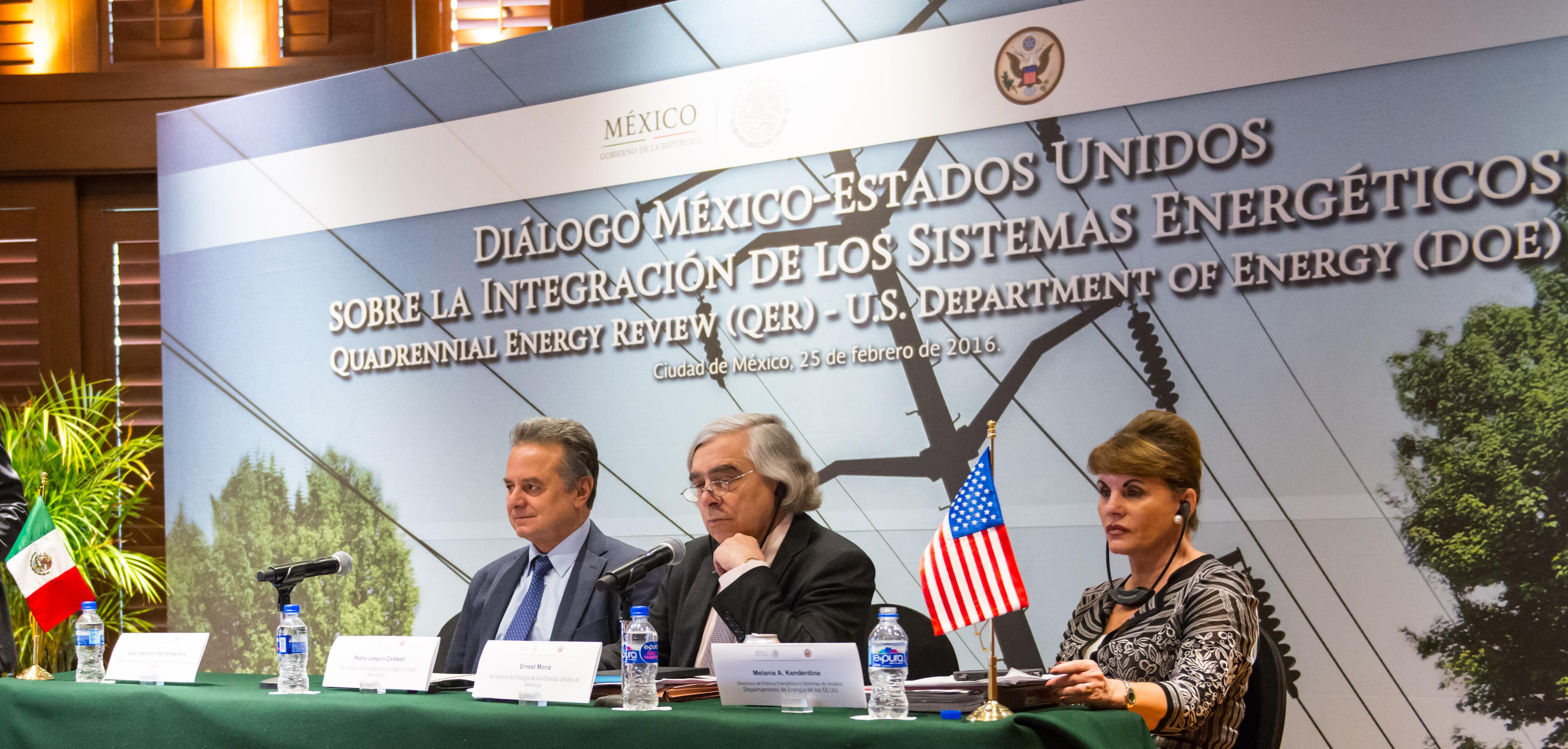 En marcha la integración energética entre México y Estados Unidos a través de la apertura de nuevas oportunidades en el sector