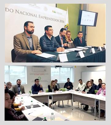 El Presidente del INADEM sostiene encuentro con emprendedores veracruzanos