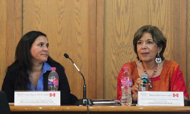 Los programas sociales peruanos Juntos, Cuna + y Pensión 65 son equivalentes a Oportunidades, Estancias Infantiles y Pensión para Adultos Mayores de la Sedesol