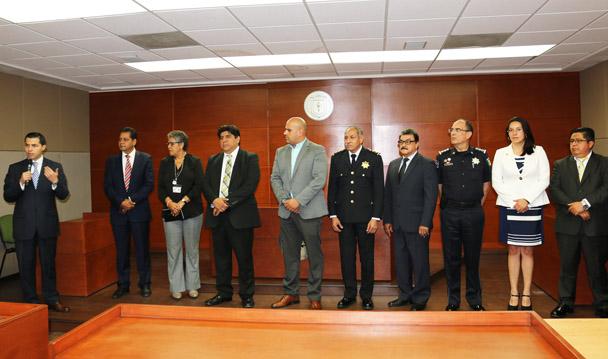 La PGR impartió talleres interinstitucionales en torno a la operación del NSJP.