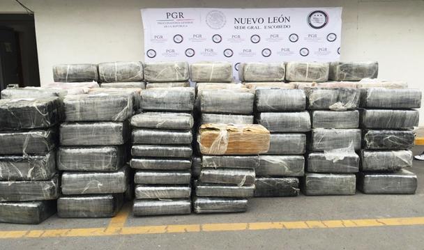 PGR asegura más de dos toneladas de marihuana y un inmueble en cateo realizado Nuevo León.